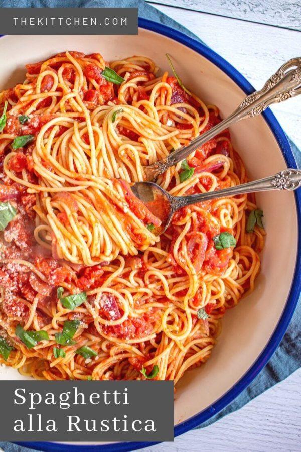 Spaghetti alla Rustica | Learn how to make the Spaghetti allaRustica that a Manhattan Italian restaurant charged $18 for.