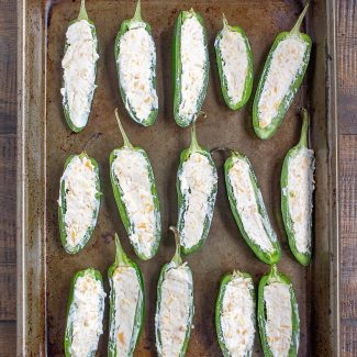 Baked Jalapeño Poppers Instructions