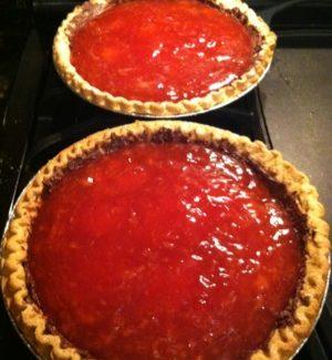 Strawberry Pie – a step by step photo gallery