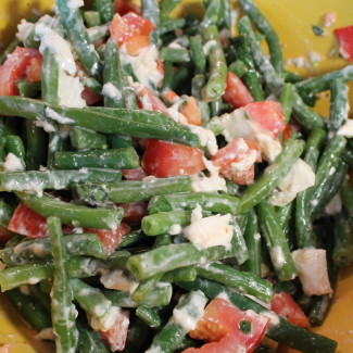 This Week's Lunch: Green Bean Salad