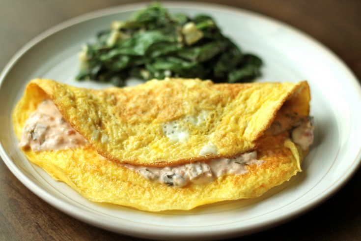 Artichoke Omelet inspired by Southport Grocery
