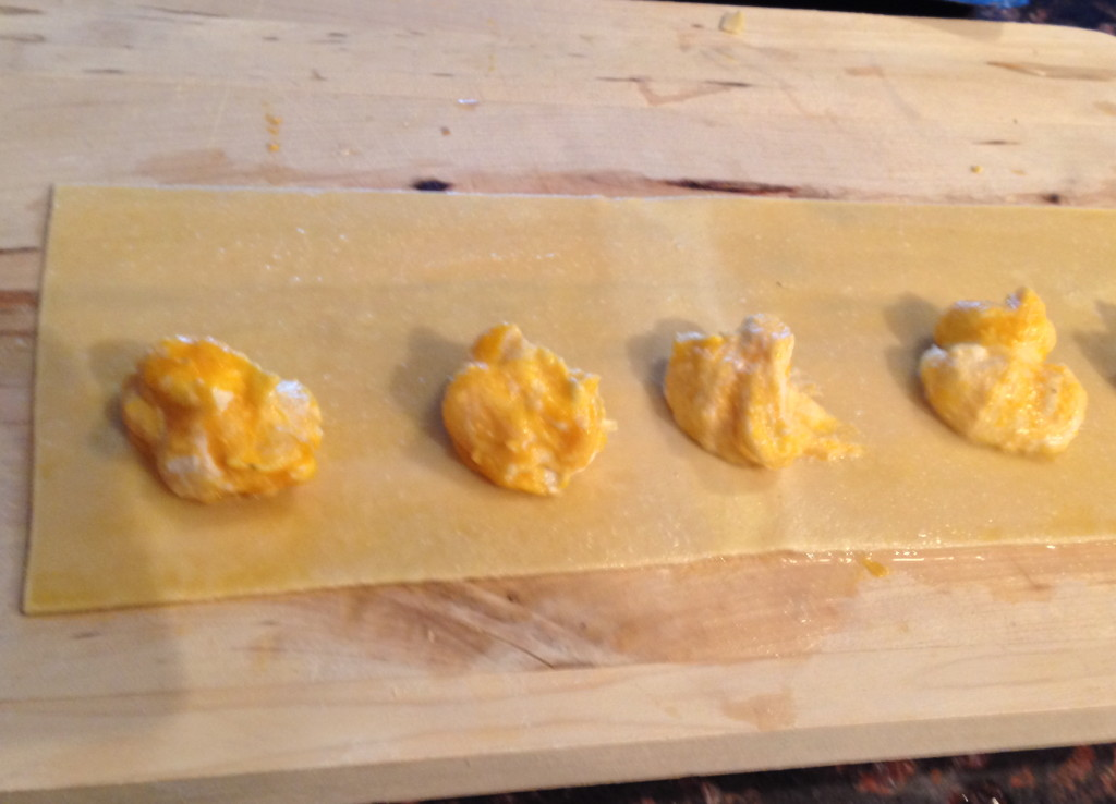 Butternut Squash Ravioli with Shallots and Fresh Ricotta - thekittchen