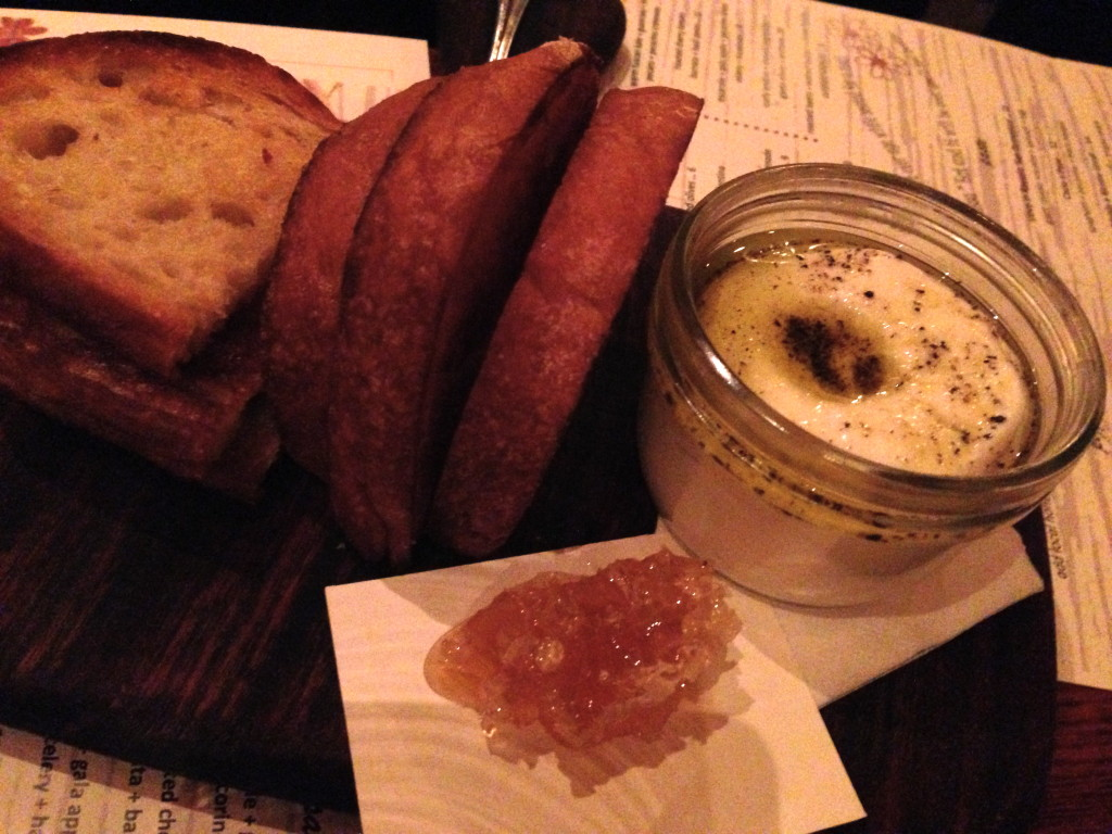 Davanti Enoteca Ricotta and Honeycomb