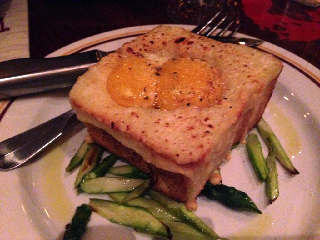 Davanti Enoteca Truffle Egg Toast
