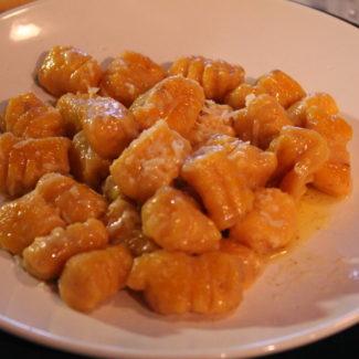 Butternut Squash and Ricotta Gnocchi