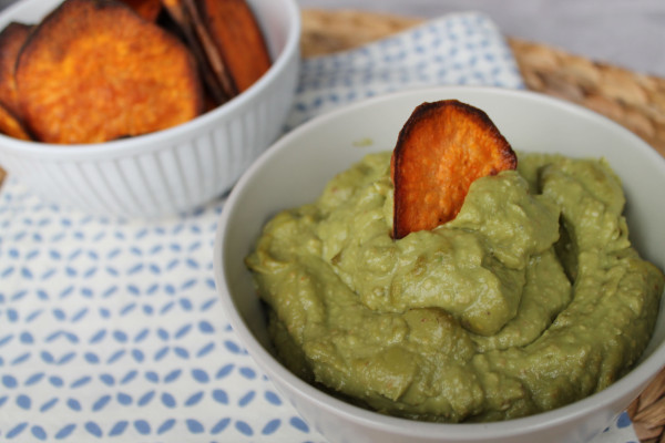 Avocado Pine Nut Puree