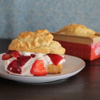 Vanilla Bean Strawberry Shortcake