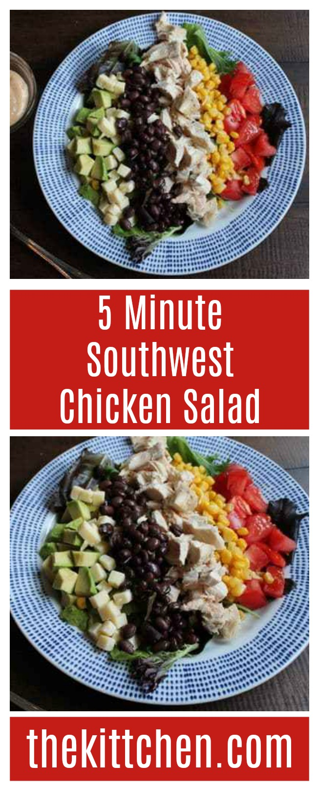 5 Minute Southwest Chicken Salad