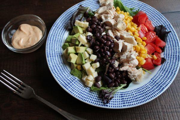 5 Minute Southwest Chicken Salad