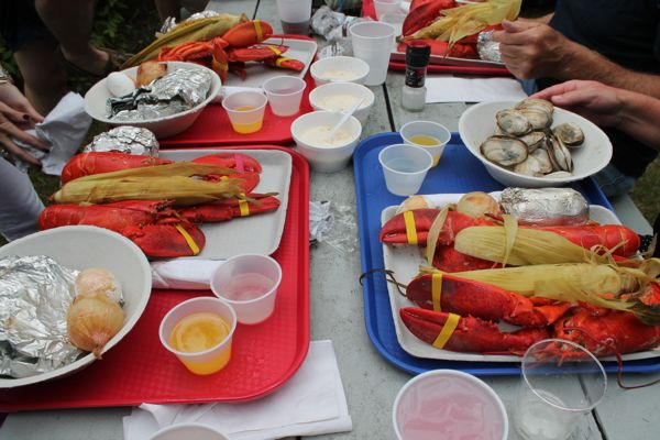 Cabbage Island Clambakes provides visitors with an authentic Maine experience that includes a ferry ride and a traditional Maine feast.
