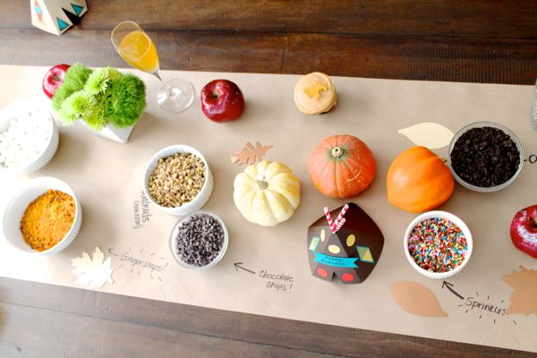 Build Your Own Caramel Apple Bar