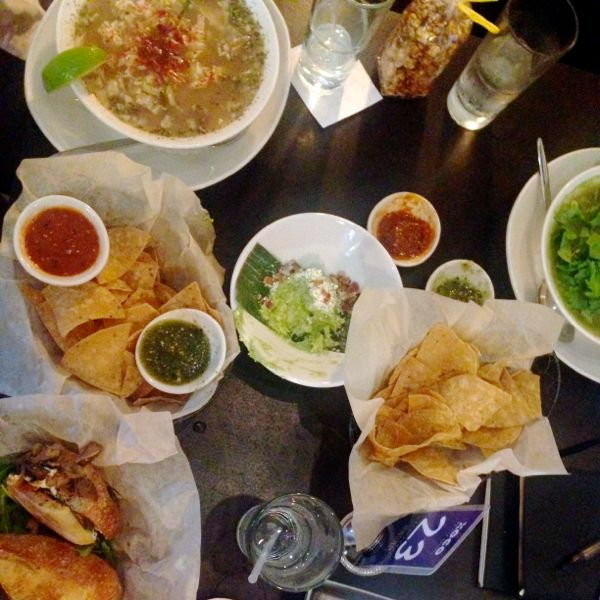 A feast from Xoco