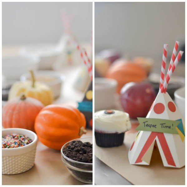 Caramel Apple Party Decorations