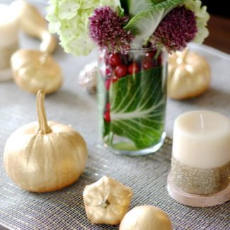 Easy and Elegant Thanksgiving Tablescape