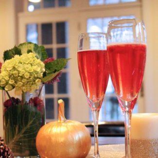Sparkling Cranberry Prosecco Cocktail