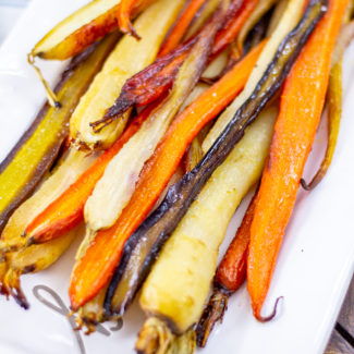 Roasted Carrots, the Easiest Side Dish