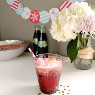 Cranberry Coca-Cola Life Punch