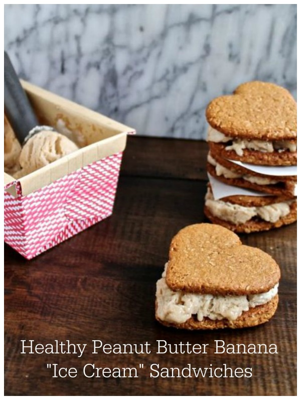 Healthy Peanut Butter Banana Ice Cream Sandwiches | The Kittchen