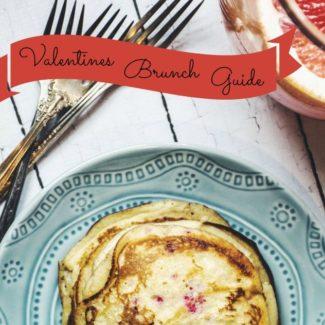 Valentine's Day Brunch Menu Guide