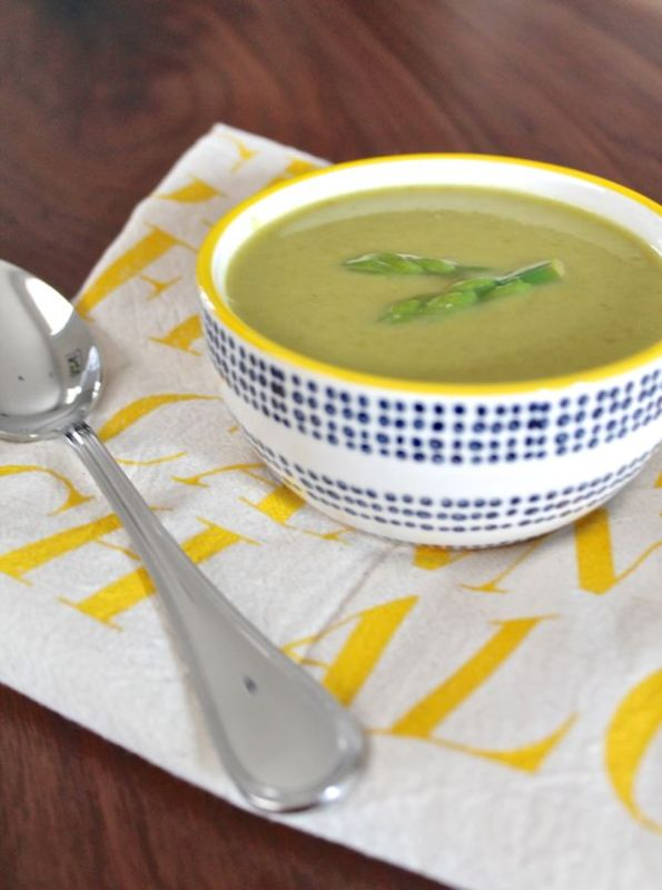 Roasted Asparagus Soup   The Kittchen