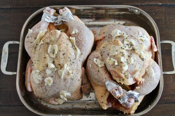 Lemon Garlic Roast Chicken