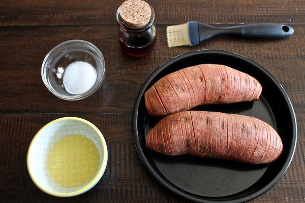 How to Make Hasselback Sweet Potatoes