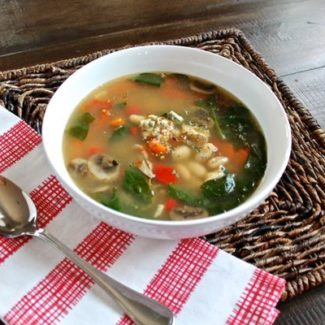 Simple Chicken Vegetable Soup