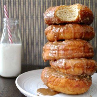 Caramel Doughnuts