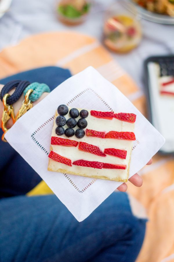 The Best 4th of July Recipes : American Flag Cookies Pizzas