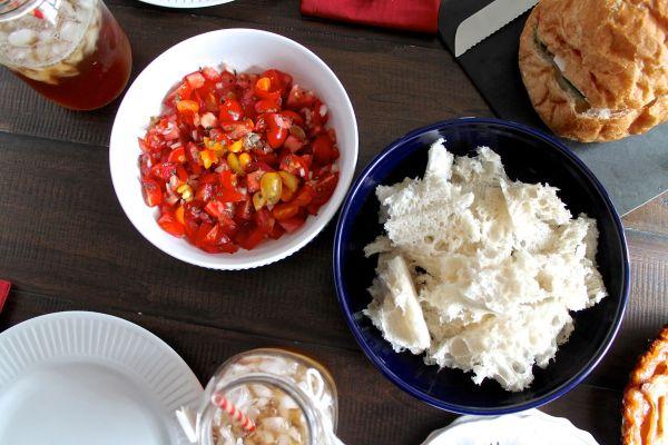 Fresh Tomato Dip Recipe via The Kittchen