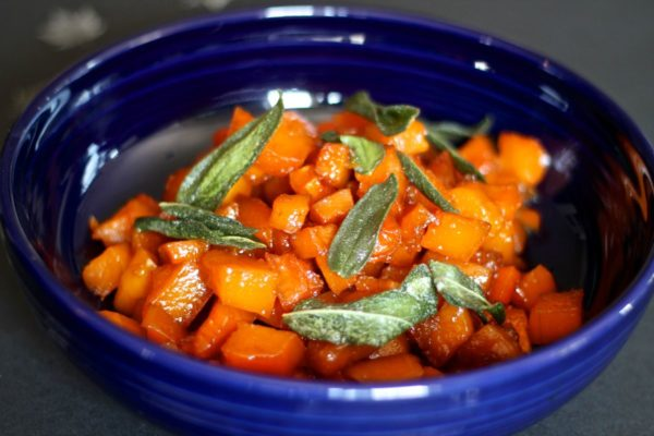 Caramelized Butternut Squash and Fried Sage