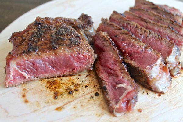 Pan cooked steak marinade