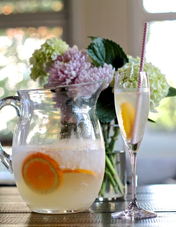 How to make French 75 Punch