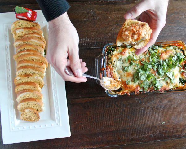 7 Layer Lasagna Dip via The Kittchen (horizontal)
