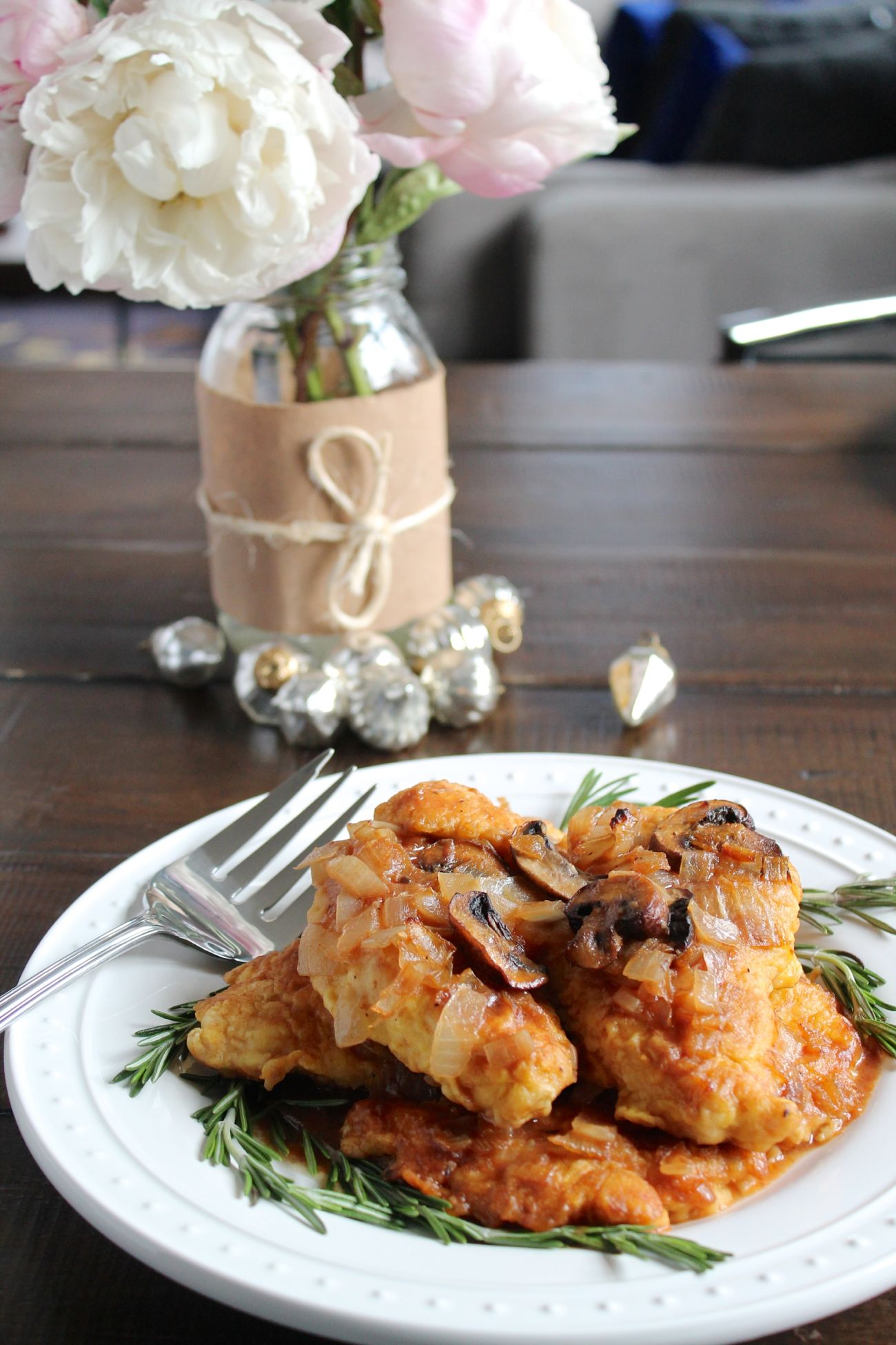My mother's recipe for Classic Chicken Marsala has been a staple at special occasions and family gatherings for years! The best thing is that is tastes even better when it is made a day early, it is the perfect make-ahead holiday meal!