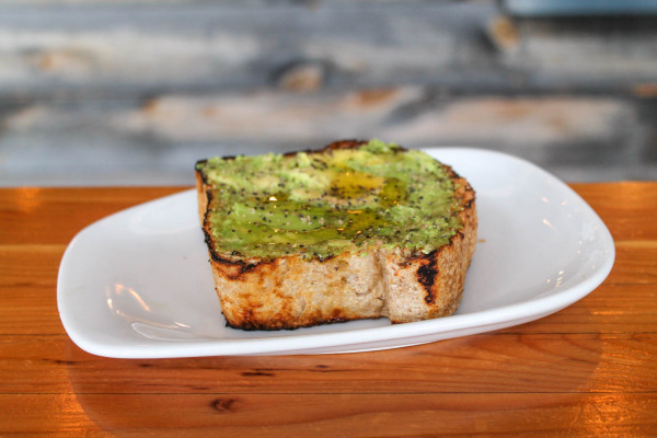 Avocado Toast at Public Coffee Roasters