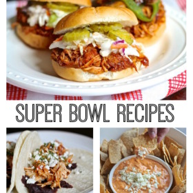 Super Bowl Recipes Square