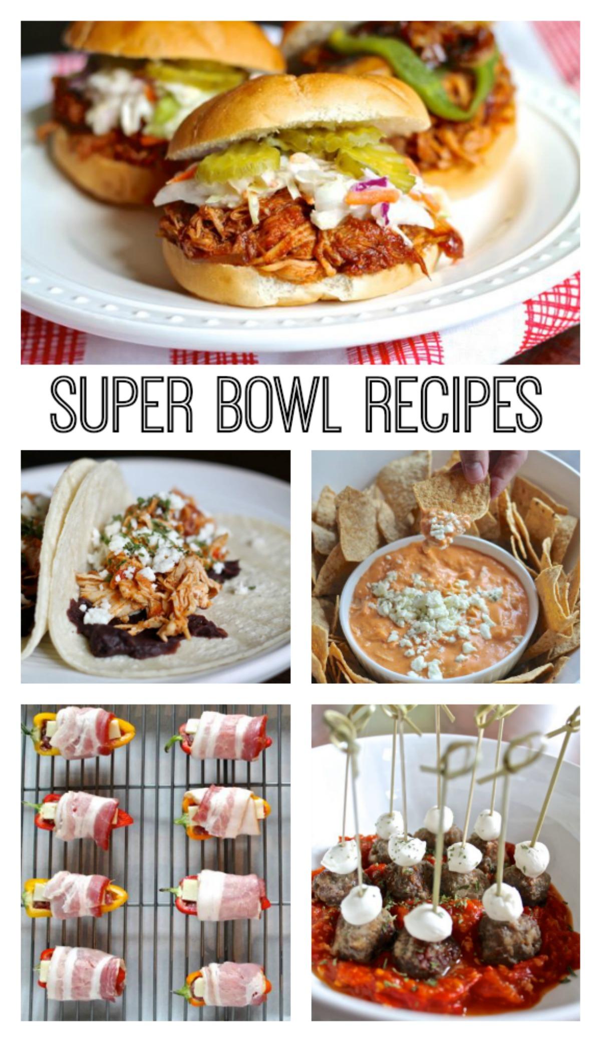 15 Super Bowl Recipes  Thekittchen