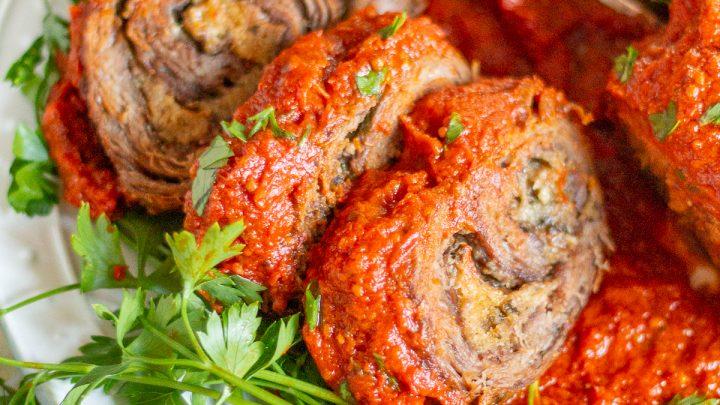 Braciole with Tomato Sauce