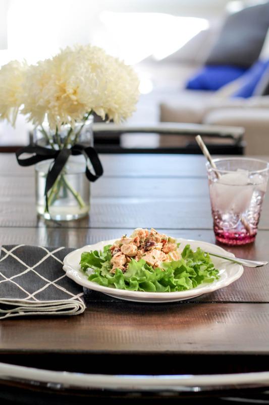 Curry Chicken Salad-Recipe
