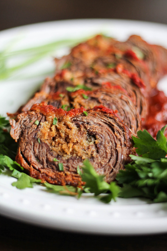 how to cook braciole in sauce