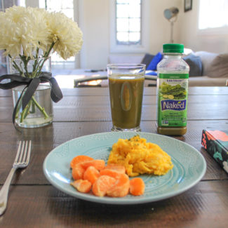 My Morning Routine featuring Naked Juice's Kale Blazer