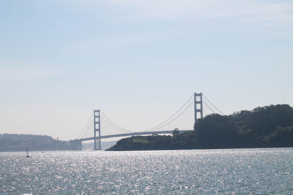 Alcatraz and Sausalito