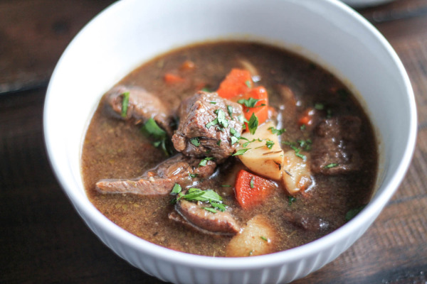 Guinness Stew with Beef and Mushrooms-7