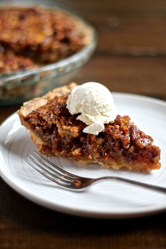 Pecan Pie with a Shortbread Crust - via The Kittchen (vertical)
