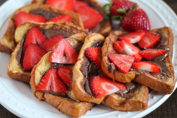 Strawberry Nutella French Toast-3