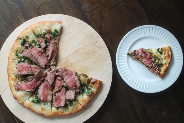 PRE-Brand Steak and Blue Cheese Pizza-6