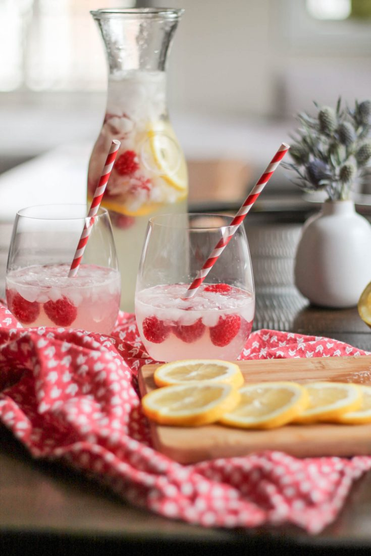 Raspberry Lemonade Cocktail