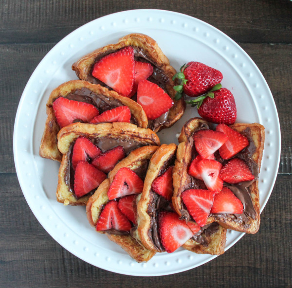 Strawberry Nutella French Toast-2