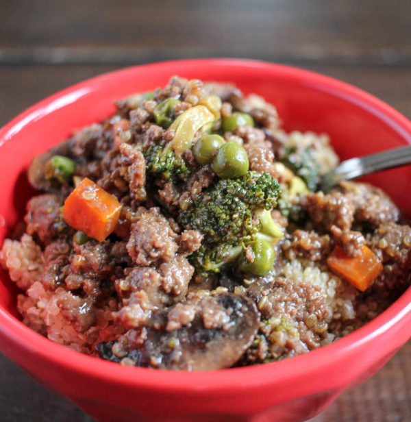 Beef and Quinoa Stir Fry 3